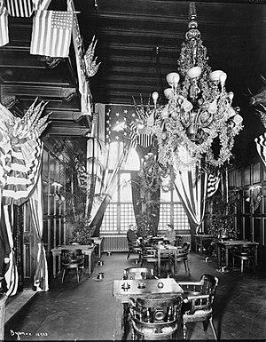 Jerome Mansion - Cafe at Manhattan Club (c.1901)
