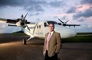 Air Seychelles - Roy Kinnear, the Air Seychelles Chief Executive Officer.