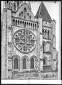CH-NB - Lausanne, Cathédrale protestante Notre-Dame, vue partielle extérieure - Collection Max van Berchem - EAD-7286.tif