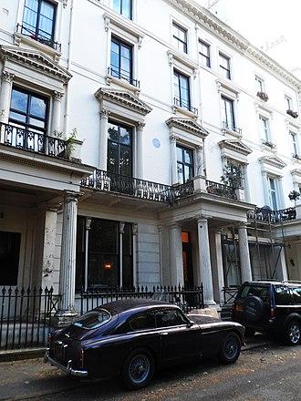 Westbourne Terrace - Image: CHARLES MANBY 60 Westbourne Terrace Paddington London W2 3UJ