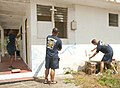 CPOs conduct commuity service project 140402-N-TR604-047.jpg