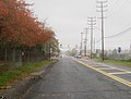 CR 11 northbound approaching CR 537 end, Oceanport, NJ, Nov 2017.jpg