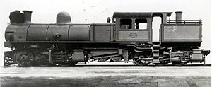 South African Class KM 0-6-0+0-6-0 - Image: CSAR Kitson Meyer no. 1000