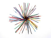 25 pair color code single core cable 25 pair 50 conductors