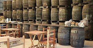 Pirassununga - Cachaça Barrels in Pirassununga