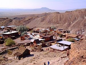 Calico and Odessa Railroad - Calico Ghost Town, California