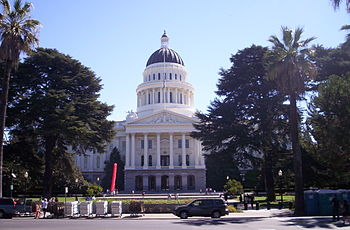 English: California State Capitol.