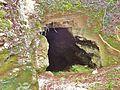 Calmoutier. Entrée de la grotte Eglise de Combe-Epine. 2015-07-31.JPG