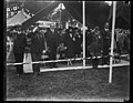 Calvin Coolidge and Grace Coolidge at outdoor event LCCN2016889030.jpg