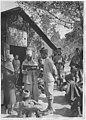 Camp militaire sénégalais - Somalis et Sénégalais devant l'infirmerie - Saint-Raphaël - Médiathèque de l'architecture et du patrimoine - APTH000069.jpg