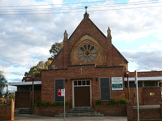 St Johns Catholic Church, Campbelltown Church in New South Wales, Australia