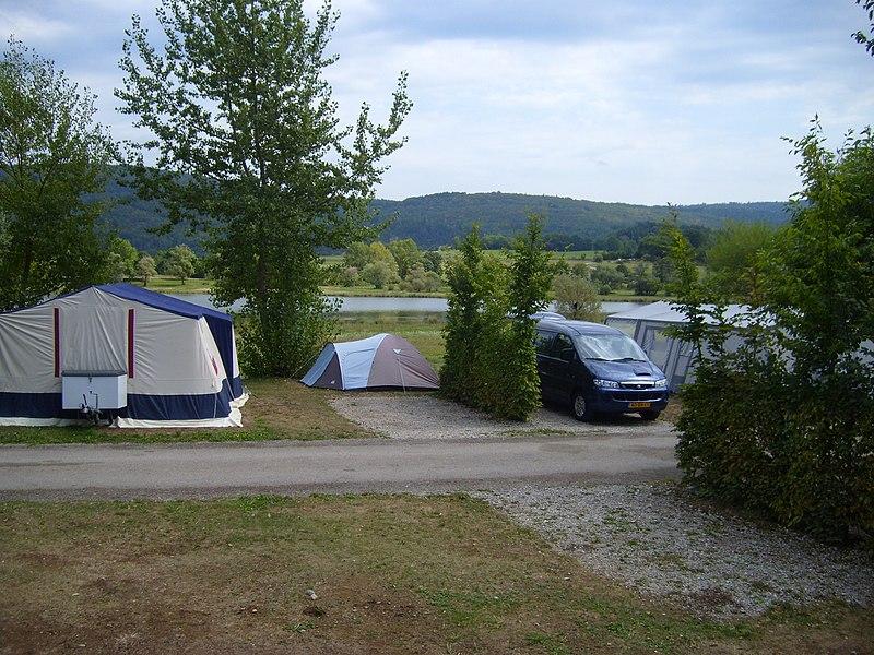 Campingplatz des Gorges in F 01580 Matafelon ACSI möglich