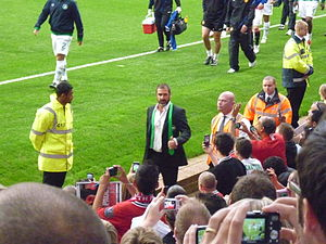 Eric Cantona - Cantona at Old Trafford with the Cosmos, 5 August 2011