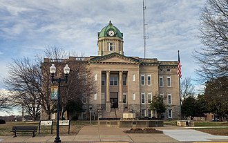 Cape Girardeau County, Missouri - Image: Cape G Irardeau Co Jackson MO courthouse 20180225 163558