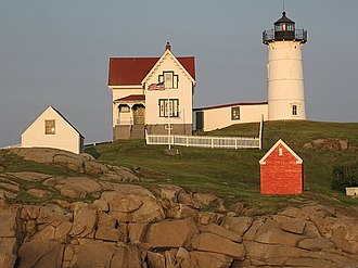 Cape Neddick Light - Image: Cape Neddick Light 2006