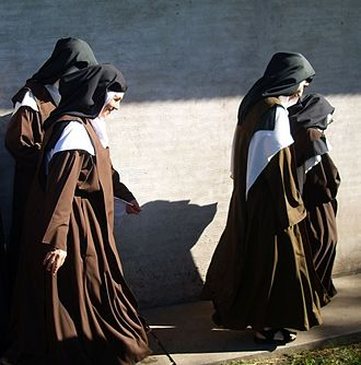 Enclosed religious orders - Discalced Carmelite nuns