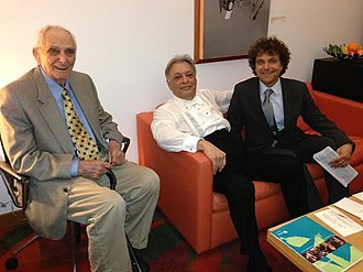 Anthony Marinelli - Carmine Marinelli (Left), Zubin Mehta   and Anthony Marinelli (2012)