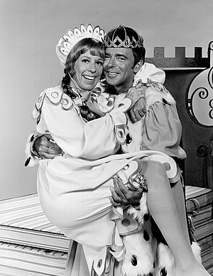 Once Upon a Mattress - Carol Burnett and Ken Berry in the 1972 television production.