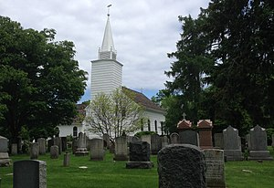 Setauket-East Setauket, New York - The Caroline Church of Brookhaven, built 1729, is the oldest extant church in Suffolk County