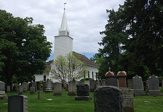 Brookhaven, New York - The Caroline Church in Setauket, was built in 1729 and is the oldest extant church in Brookhaven