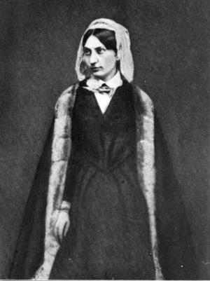 Carolyne zu Sayn-Wittgenstein - Princess Sayn-Wittgenstein in an 1847 daguerrotype