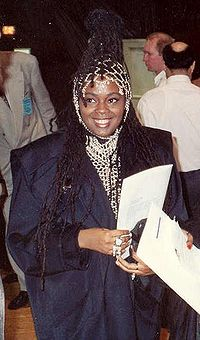 Caron Wheeler bei den Grammy Awards 1990