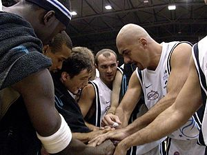 S.S. Basket Napoli - Carpisa Napoli players in 2006.