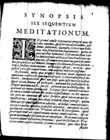 Cartesius - Meditationes de prima philosophia.djvu