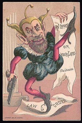 Charles J. Guiteau - A cartoon depicting Guiteau as a dangerous fool