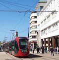 Casablance tram Citadis placedesnationsunis.JPG