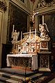 Castelfiorentino, s. verdiana, int., altare.JPG