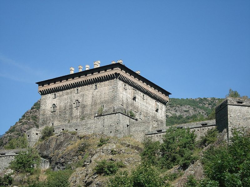 Verrès - castle