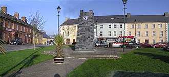 Castlefin - The centre of Castlefin village.