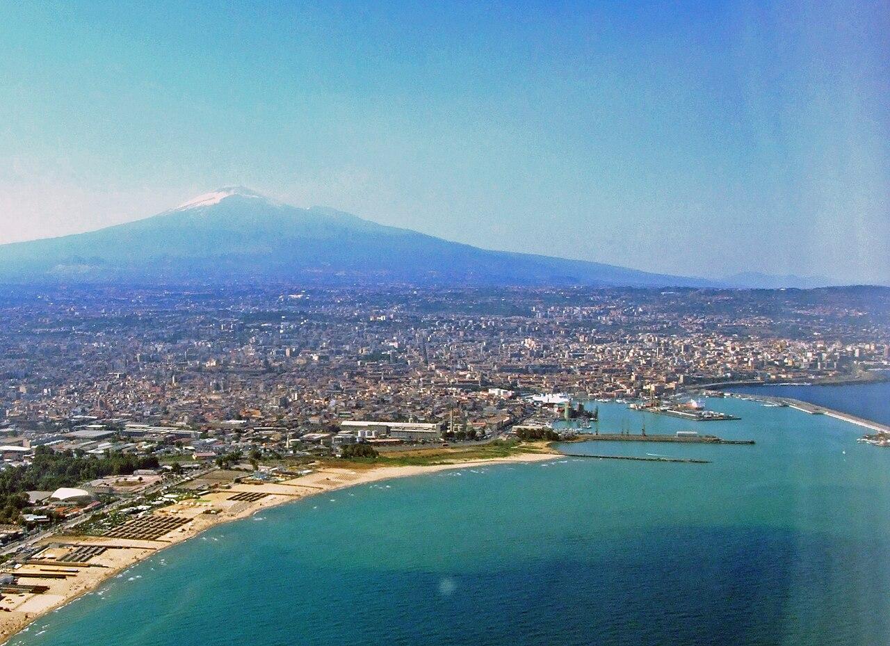 Catania skyline
