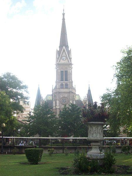 File Catedral De Los Santos Pedro Y Cecilia Vista Desde La