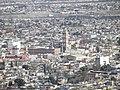 Catedral y Palacio, Desde el Mirador del Cristo de las Galeras, Saltillo Coahuila - panoramio.jpg