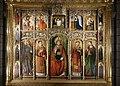 Cathédrale Notre-Dame-Immaculée de Monaco Wandbild mit Heiligen.jpg