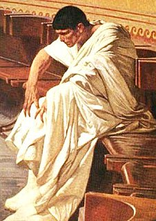 Catiline Ancient Roman Senator who attempted to overthrow the Republic