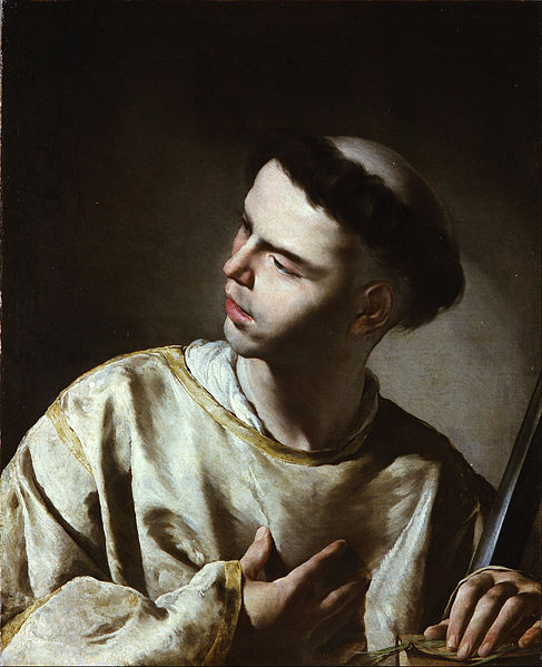 File:Cavallino, Bernardo - Saint Lawrence - Google Art Project.jpg