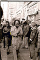 Cecil Williams at the I Hotel protest, January 1977.jpg