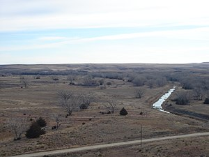 Trego County, Kansas - Image: Cedarbluffoverlook