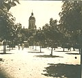 Centar Negotina, Pogled na crkvu, oko 1930 (1).jpg