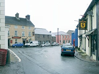 Llangadog Human settlement in Wales