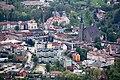 Centrum Limanowej, widok z Miejskiej Góry.jpg