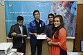 Certificate given in Bangla Wikipedia Editors' Assembly at CIU (07).jpg
