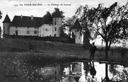 Château de Cuirieu, p122 L'Isère 1900-1920 - edition Sayn.jpg