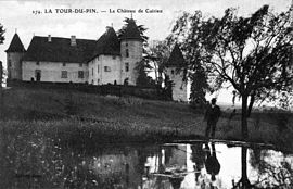 The château of Cuirieu in the early 20th century