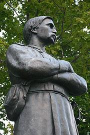 Chamberlain memorial in Brewer, Maine