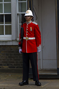 Changing of the Guard - Royal Gibraltar Regiment sentry.jpg