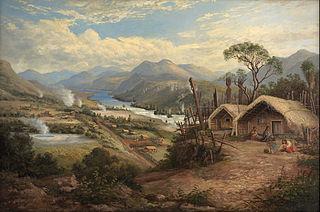 Orakei Korako on the Waikato